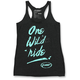 Women's Black Spill Tank
