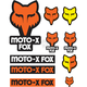 Orange Track Pack Sticker Sheet - 14935-009-NS