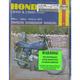 Motorcycle Repair Manual - 262
