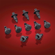 Flush Reusable Rivets - 3-112