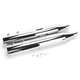 4 in. Big Louie Tip Compatible Slip-On Mufflers w/2 in. Baffle - 32005-200