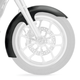 Slicer Tire Hugger Series Front Fender for 21 in. Wheels - 1401-0219