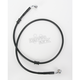 Front Standard Length Black Vinyl Braided Stainless Steel Brake Line Kit - 1741-2592