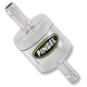 Chrome In-Line Super Short Fuel Filter - SS1C