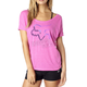 Women's Fuschia Accelerated Wedge T-Shirt