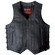 Ten Pocket Cowhide Leather Vest