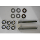 Buttonhead 3 1/4 in. Cut-To Length Chrome Breather Bolt Kit - DM-5900K