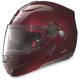 Wine Cherry N91 N-Com Modular Helmet