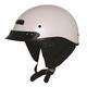 Pearl White Alto Custom Helmet