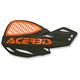 Black/Orange Logo Vented Uniko Handguards - 2072671009