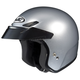 CS-5N Silver Open Face Helmet