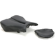 Track - CF One-Piece Solo Seat w/Carbon Fiber-Look Accent - 0810-H013