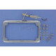 Beveled License Plate Frame w/Lights - CV-4616