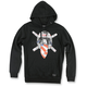 Black Ronnie Raider Hoody