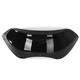 Black Opaque 5.5 in. Spoiler Windshield for OEM Fairings - MEP85911