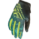 Women's Teal/Hi-Vis Yellow Kinetic Gloves