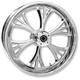 Chrome 21 x 3.5 Dual Disc Majestic Front Wheel - 21350-9017-102C