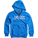 Youth Blue Legacy Zip Hoody