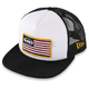 White Stars and Bars 2 Hat - F35196109WHTONZ