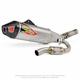 Ti-6 Titanium Exhaust System w/Carbon Fiber End Cap - 0351525F