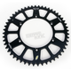 Black Anodized Rear Works Triplestar Aluminum Sprocket - 5-361952BK