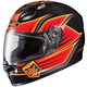 Black/Orange/Yellow FG-17 Banshee MC-6 Helmet