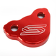 Red Rear Brake Reservoir Cover - 1901