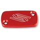 Red Front Brake Reservoir Cover - 2801