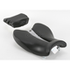 Track One-Piece Solo Seat with Rear Cover - 0810-0813