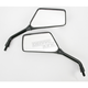 Black Universal Rectangular Mirror - 20-97120