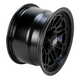 Matte Black 12 in. X 7 in. SS216 Alloy Black Ops Wheel - 1228534536B