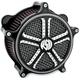 Mission Contrast Cut Venturi Air Cleaner - 0206-2012-BM