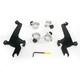 Night Shades Black No-Tool Trigger-Lock Hardware Kit for Sportshields - MEB1944