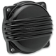 Black Powdercoat Aluminum Finned CV Carb Top Cover - CT-FIN-HD-BK