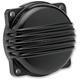 Black Powdercoat Aluminum Finned CV Carb Top Cover - CT-FIN-HD-BK