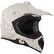 Matte White/Black TX 707 Carbon Fiber Helmet