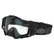 Black/Gray Weave Radius Pro Moto Goggles w/Single Clear Lens - 3059-000-000-000