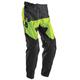 Black/Flo Green Prime Tach Pants