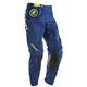 Youth Navy/Lime Phase Gasket Pants