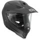 Matte Black AX-8 Dual Sport Evo Helmet