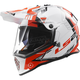 White/Red/Black Pioneer Trigger Helmet