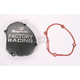 Factory Racing Ignition Cover-Silver Vein - SC-33A