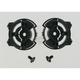 Black Pivot Kit for AGV Helmets - KIT04200999