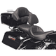 Road Sofa Deluxe Touring Seat with Driver Backrest and Tour-Pak Backrest Pad Cover - D993J