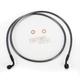 Black Pearl Designer Series 35 Degree Top Angle Custom Single-Disc Front Brake Line - 46154SW