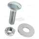 Bolt, Nut and Washer for Rouski Retractable Wheel Systems - 04-500-14