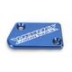 Anodized Billet Aluminum Front Brake Reservoir Cover - 21-031