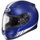 Blue/White CL-17 MC-2F Streamline Helmet