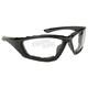 Black Sunglasses w/Clear Lens - 43015