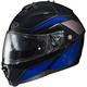 Blue/Black/Gray IS-MAX II MC-2 Elemental Modular Helmet